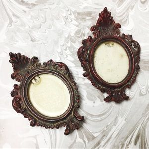 Set of 2 Vintage wall picture frames